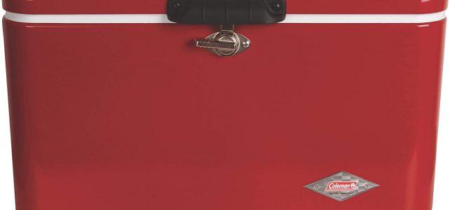 coleman steel belted cooler review